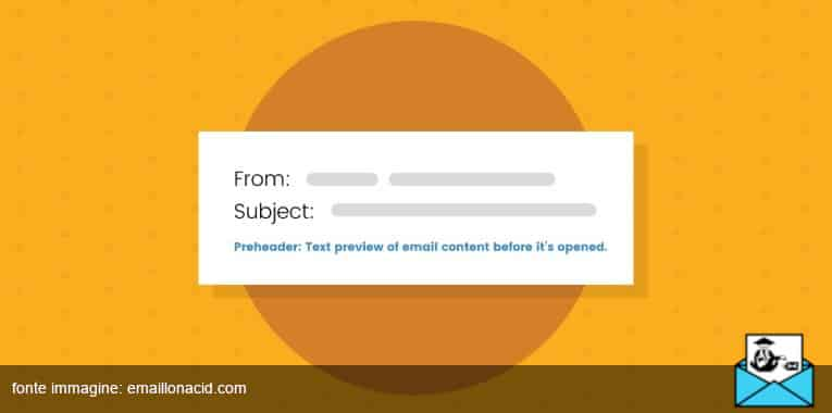 preheader email